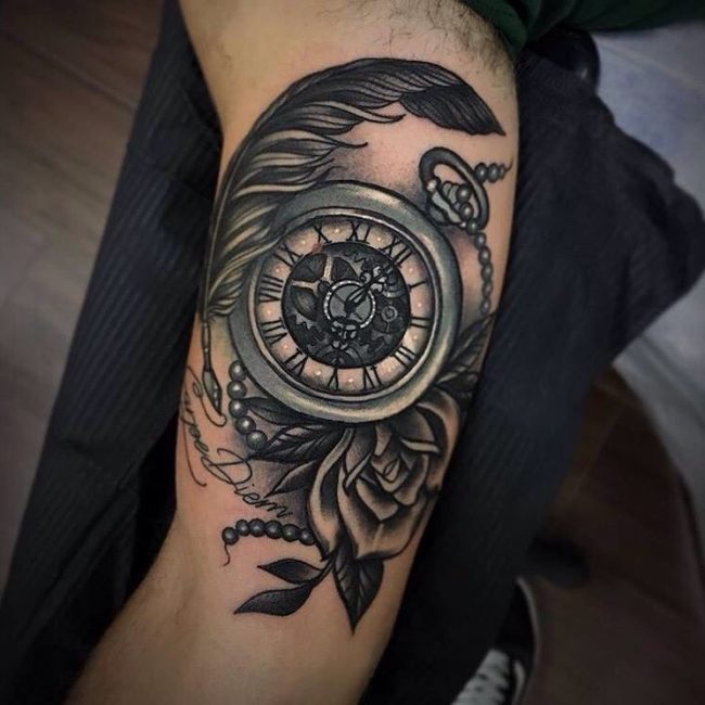 50 Feather Tattoo Designs For Men - Rich History and ...
