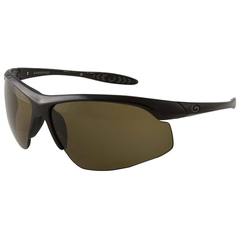 Gargoyles Men's Striker-Stalker Wrap Sunglasses