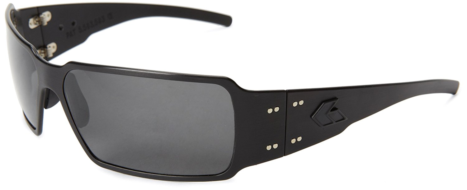 Gatorz BOXBLK01P_MBP Polarized Rectangular Sunglasses