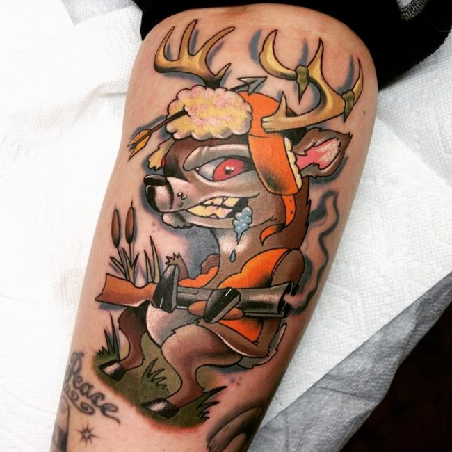 Camo Tattoo Designs