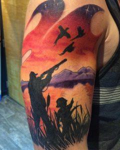 hunting-tattoo-64