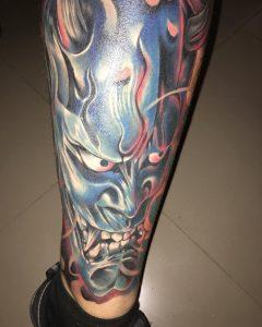 japanese-mask-tattoo-1