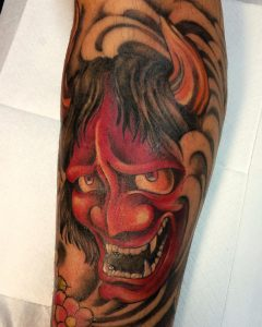 japanese-mask-tattoo-11