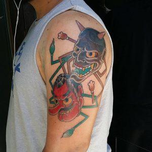 japanese-mask-tattoo-16