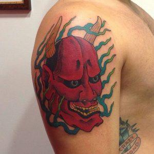 japanese-mask-tattoo-24