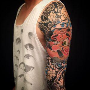 japanese-mask-tattoo-35