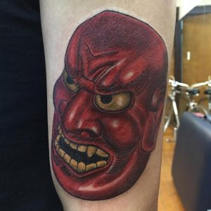 japanese-mask-tattoo-7