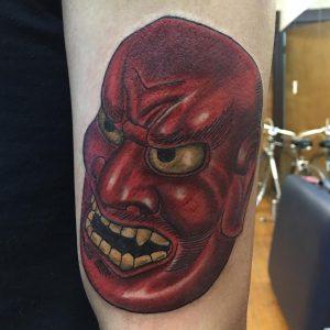 japanese-mask-tattoo-7