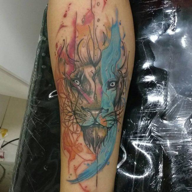lion-tattoo-7