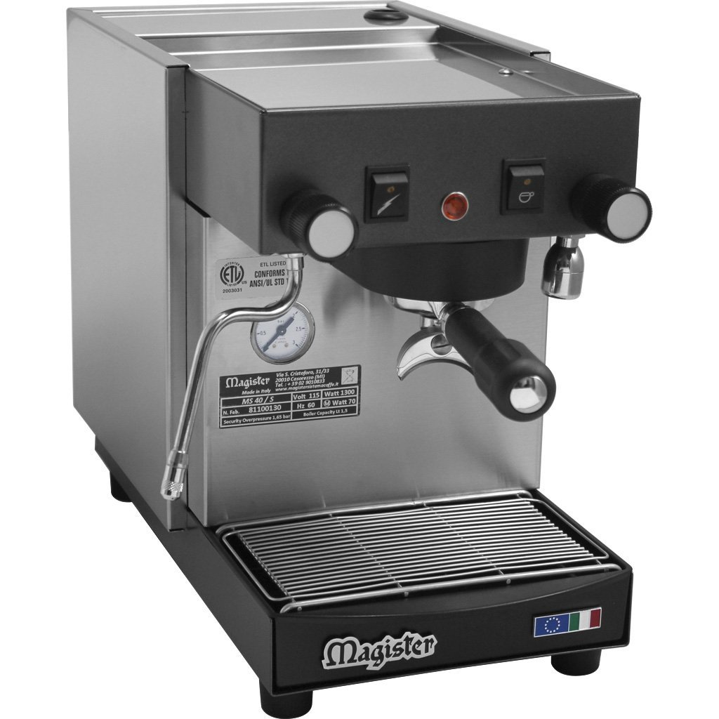 Magister MS40 Stilo Tall Heat Exchange Semi-automatic Commercial Espresso Machine - reservoir,...