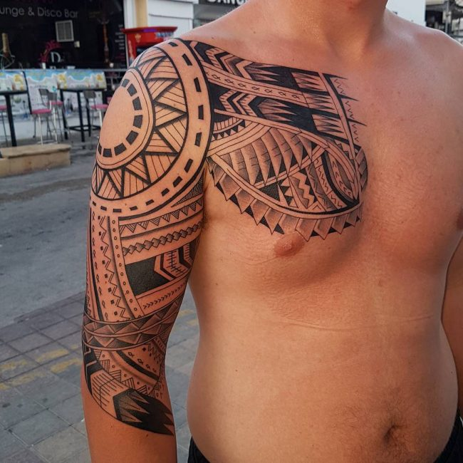 50 Hypnotizing Maori Tattoo Designs