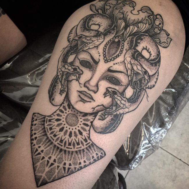 40 Amazing Medusa Tattoo Designs Meanings And Ideas For