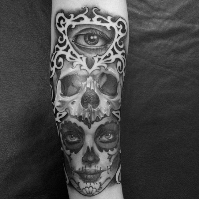 50 bold mexican tattoo ideas for men the iconic prominence of culture. Black Bedroom Furniture Sets. Home Design Ideas