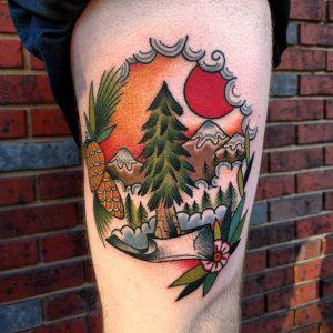 mountain-tattoo-34