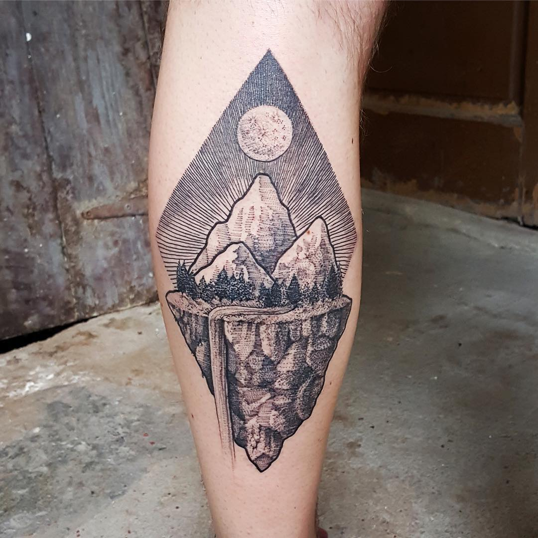... 70 Impressive Mountain Tattoo Designs U2013 Keeping In Touch With Nature