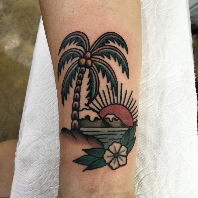 palm-tree-tattoo-1