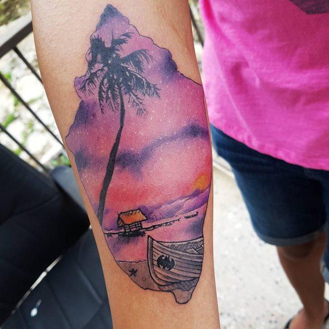 palm-tree-tattoo-7