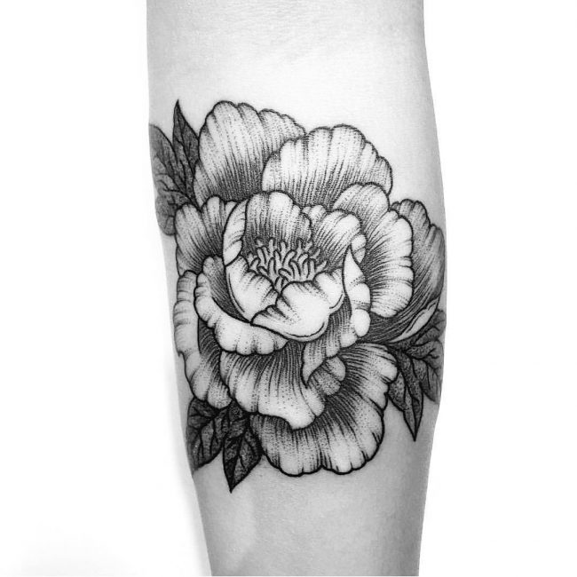 43 Japanese Peony Tattoos Collection: 70 Adorable Peony Tattoo Designs For Men