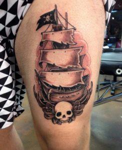 pirate-ship-tattoo-11