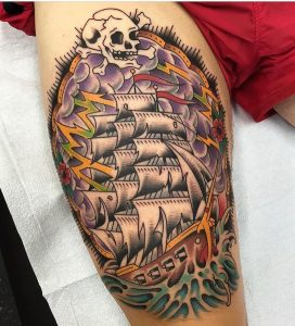 pirate-ship-tattoo-14