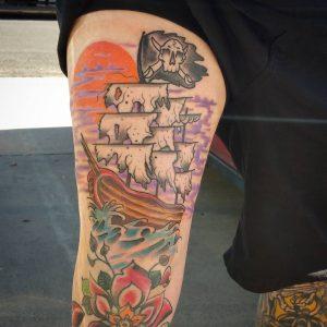 pirate-ship-tattoo-2