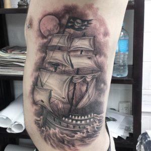 pirate-ship-tattoo-28