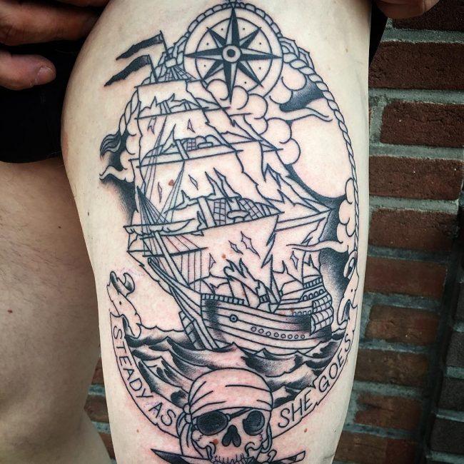 pirate-ship-tattoo-29