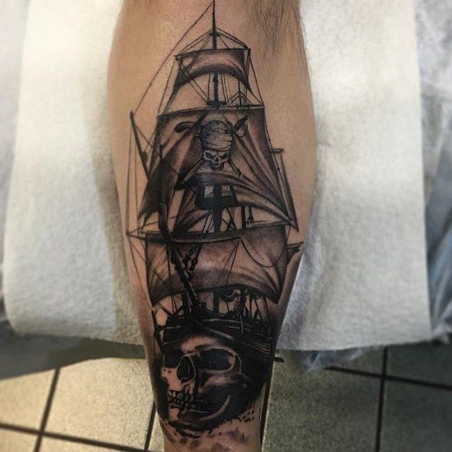 pirate-ship-tattoo-36