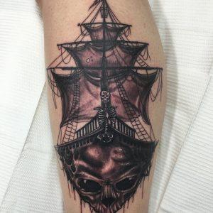 pirate-ship-tattoo-37