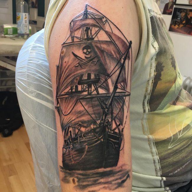 pirate-ship-tattoo-39