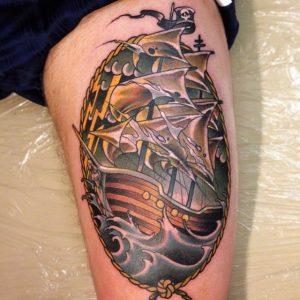 pirate-ship-tattoo-41