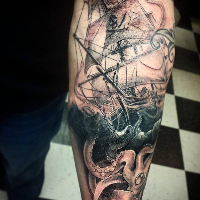 pirate-ship-tattoo-46
