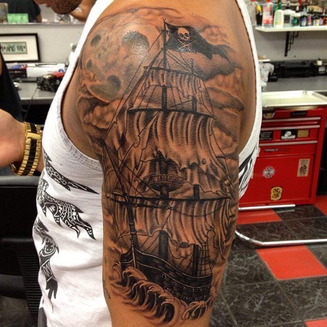 pirate-ship-tattoo-48