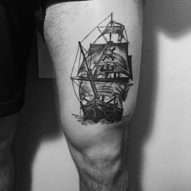 pirate-ship-tattoo-5