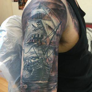 pirate-ship-tattoo-52