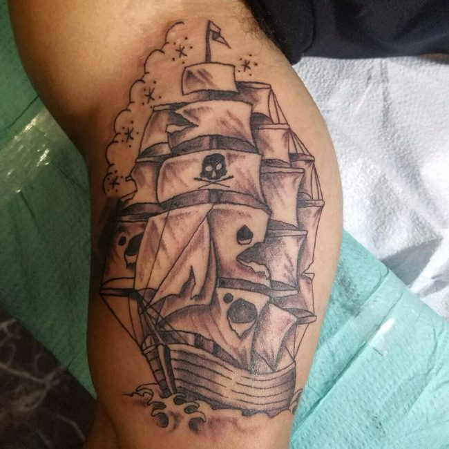 pirate-ship-tattoo-53