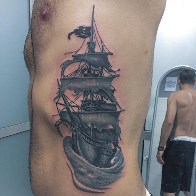 pirate-ship-tattoo-57