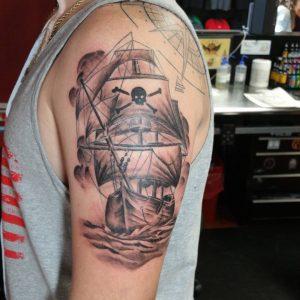 pirate-ship-tattoo-66