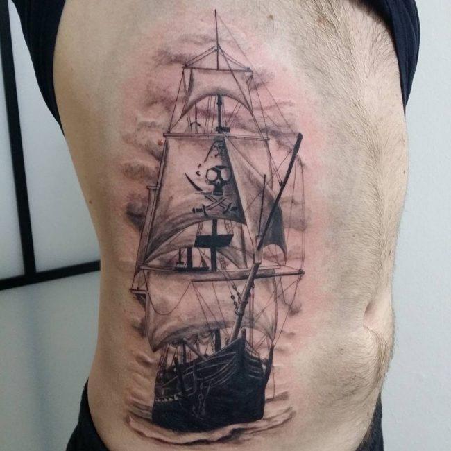 pirate-ship-tattoo-69