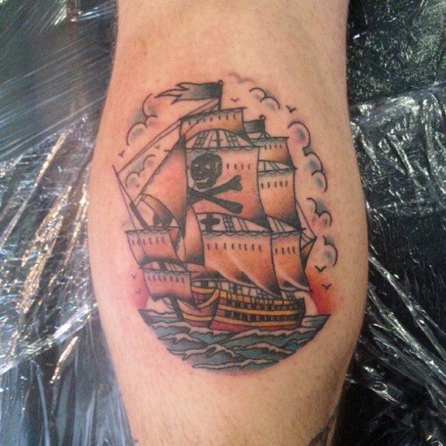 pirate-ship-tattoo-71