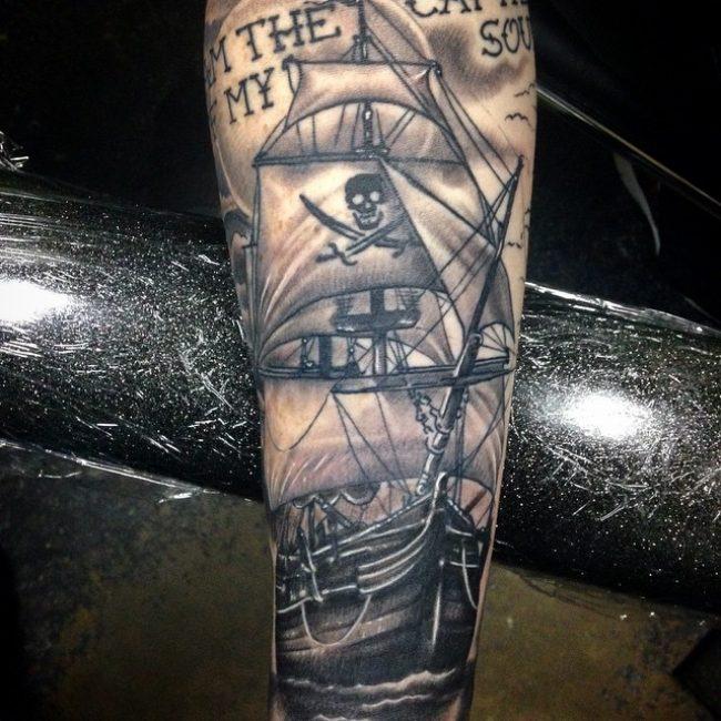 pirate-ship-tattoo-72