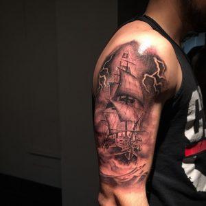pirate-ship-tattoo-74