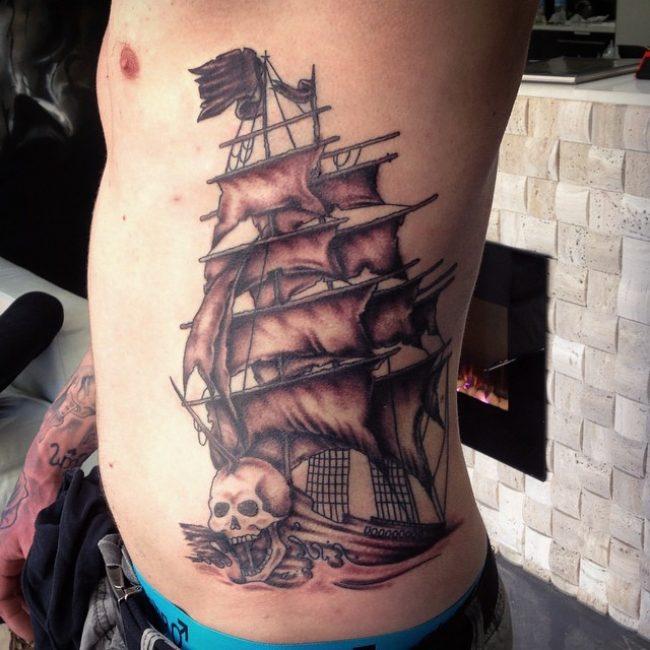 pirate-ship-tattoo-75