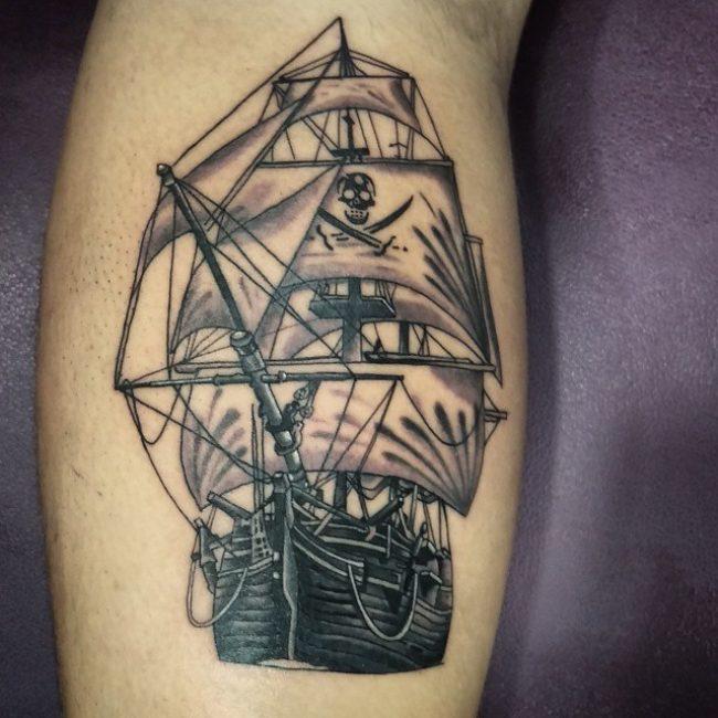 pirate-ship-tattoo-77