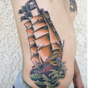 pirate-ship-tattoo-8