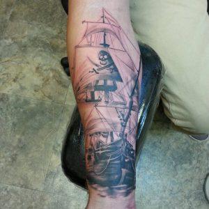 pirate-ship-tattoo-82