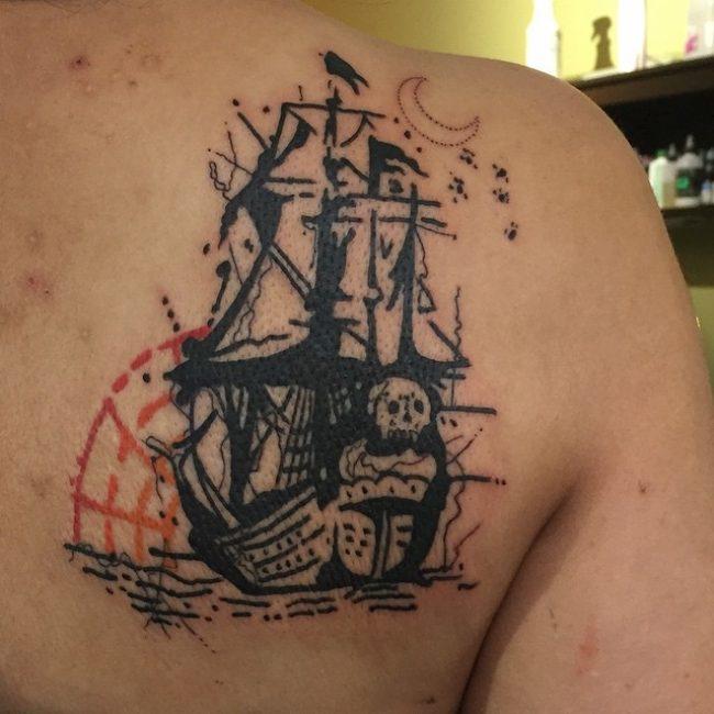 pirate-ship-tattoo-84