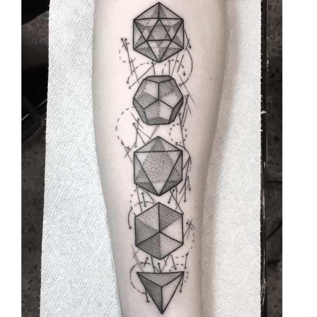 Sacred Geometry Tattoo Designs: 90 Sumptuous Sacred Geometry Tattoo Designs
