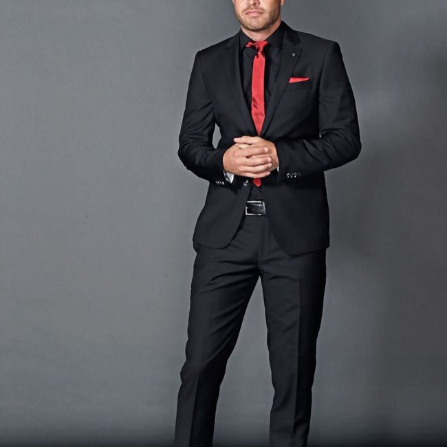25 Trendy Black Dress Shirt Ideas - Sassy Gentleman Looks