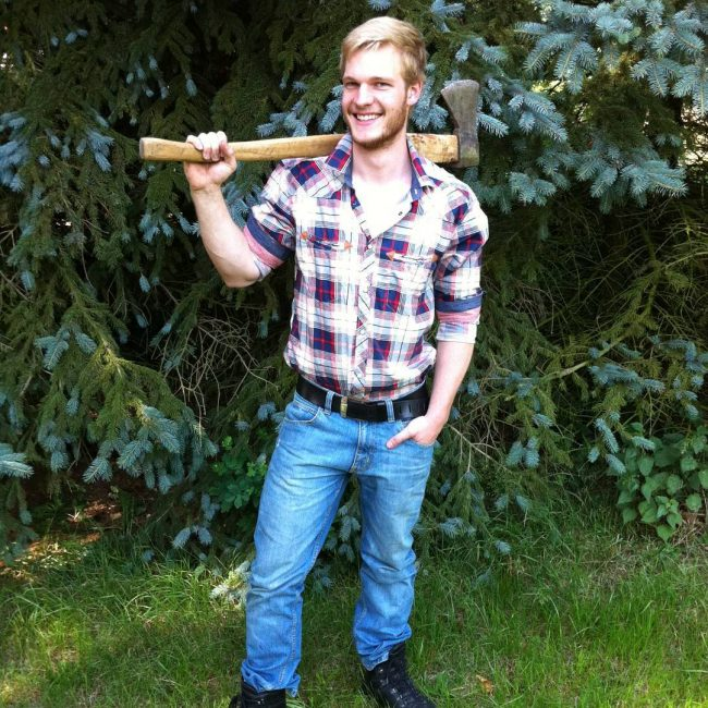 1 Lumberjack and Blue Jeans Combo